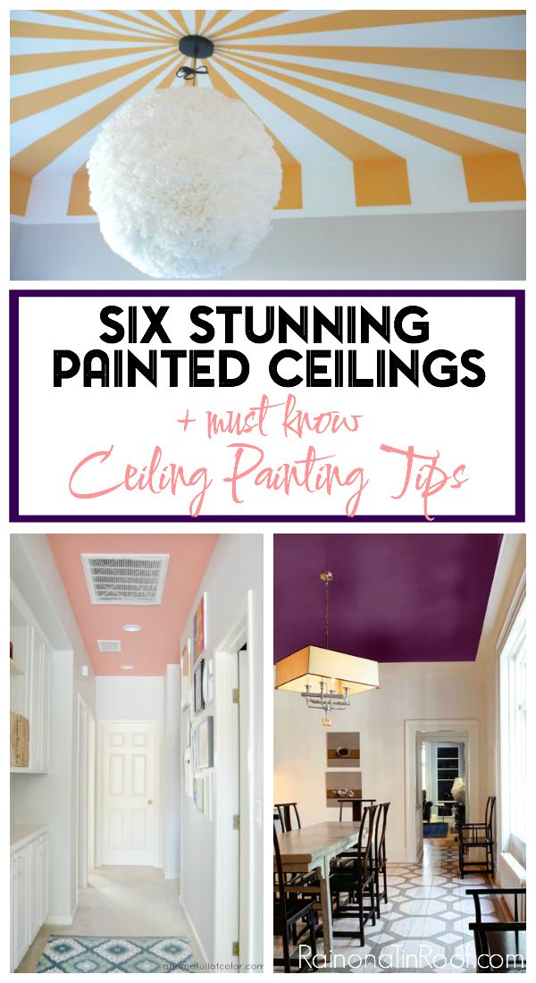 6 Painted Ceiling Designs and Tips for Painting Ceilings