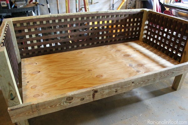 diy daybed sofas camel color sofa outdoor how to make an