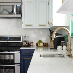 Modern Kitchen Knobs Islands With Stools Navy And White