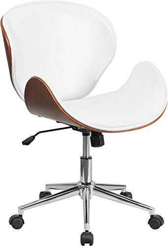 white wooden chair for desk steel folding stylish and comfortable office chairs you must see 12 mod style wood