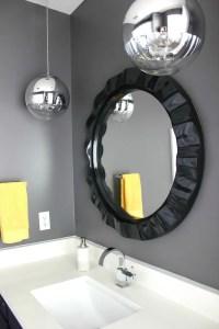 Black White Purple Bathroom. Grey And White Bathroom Decor ...