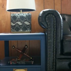 Chesterfield Leather Sofa Silver Bed Five Ways To Decorate A Room With Wood Paneling