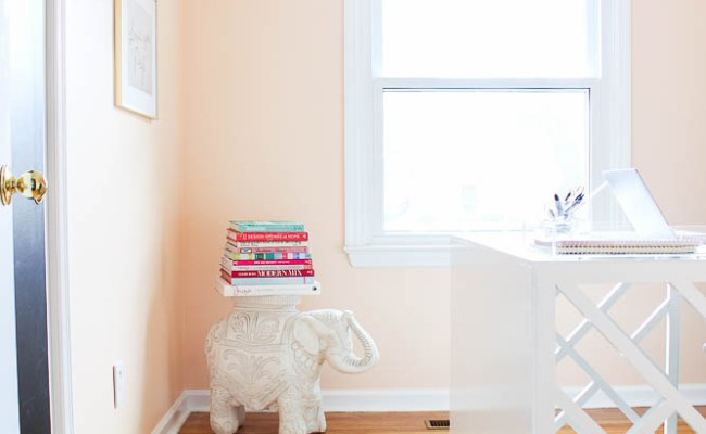 A Home Office Makeover Full Of Budget Friendly Diy