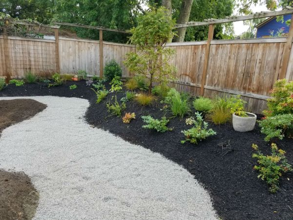 sand landscaping - seattle