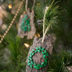 Living Room Decorations Pinterest Modern Design In Nigeria Diy Christmas Ornaments From Bark (that Kids Can Make!)