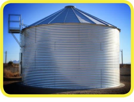 62,000 Gallon Metal Contain Rain Water Harvesting Tank from Rain Ranchers
