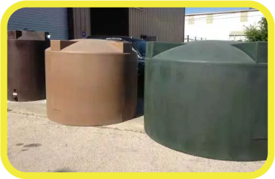 Above Ground Rainwater Collection Tanks by Rain Ranchers