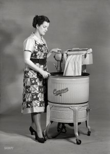 1950s Wringer Washing Machines