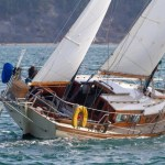 2 A beautiful example of the cruising boat class
