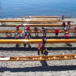 Port Townsend, Rat Island Rowing and Sculling Club, wooden racing shells, 2014 Wooden Boat Festival,