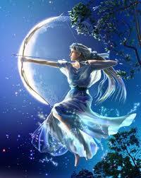 Artemis, Greek Goddess of the New Moon