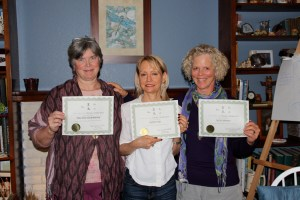 Congratulations Mary Ellen, Camille, and Jayne, much Reiki Love to you all!