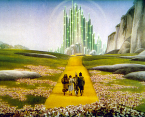 The Land of Oz is more colorful, more beautiful and full of song!