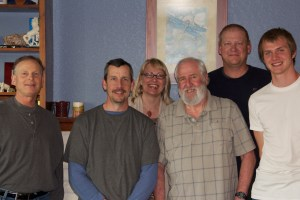 My Reiki men, truly a courageous group of men.  Reiki on!!