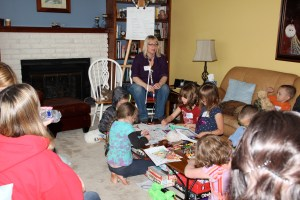 My living room filled to the brim with kids, parents, Reiki Teachers and Reiki pets.  Perfect chaos.  LOL