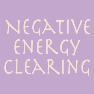 Negative Energy Clearings