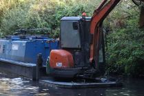 Peak Forest canal clean up