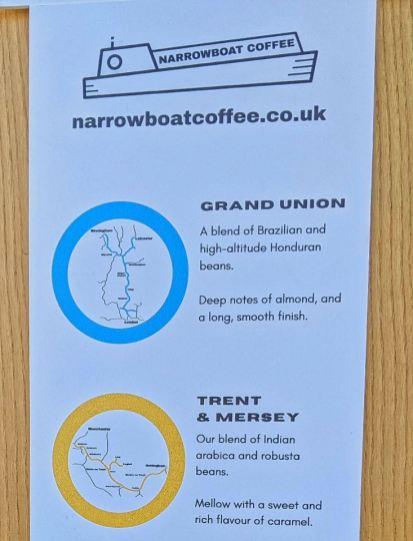 Narrowboat coffee
