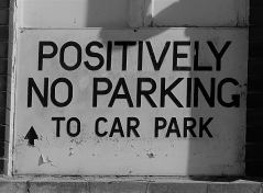 Suppose it means no parking