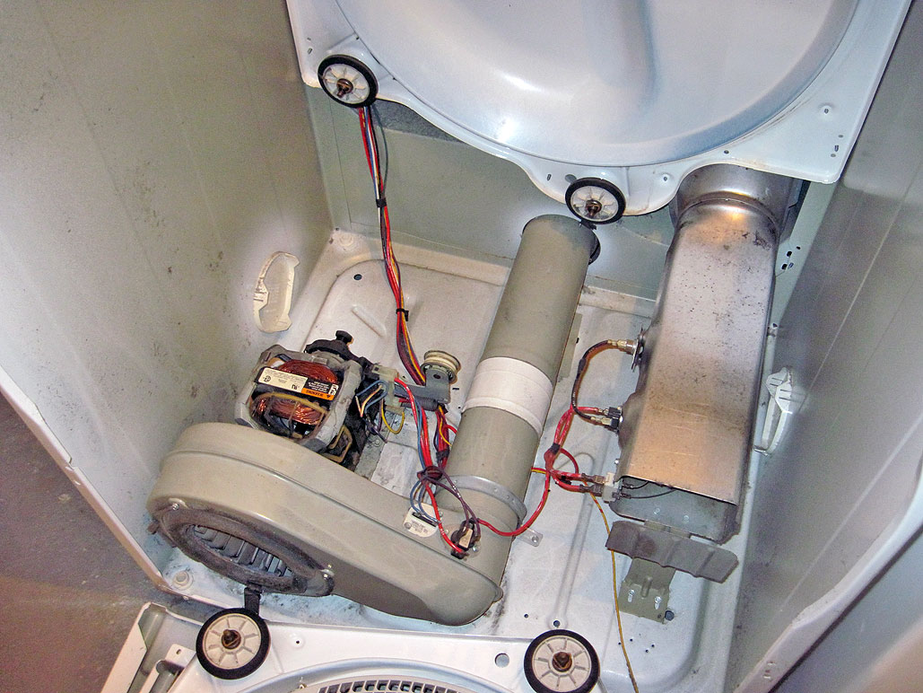 hight resolution of replacing the heating element of a dryer
