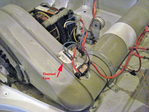 small resolution of dryers are equipped with a safety fuse called the thermal fuse the thermal fuse is