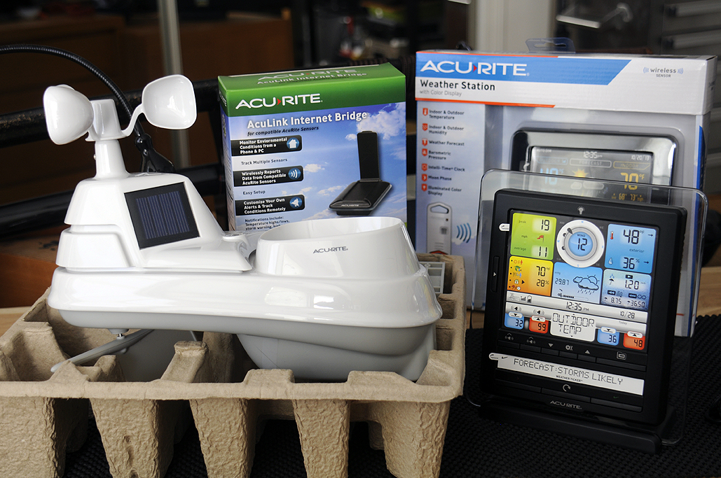 AcuRite Personal Weather Station RainyDayMagazine