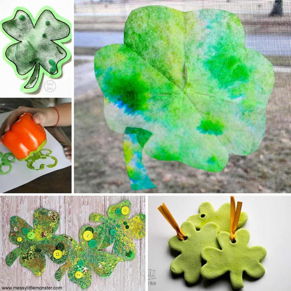 10 Fun Shamrock Crafts For Toddlers And Preschooler For St