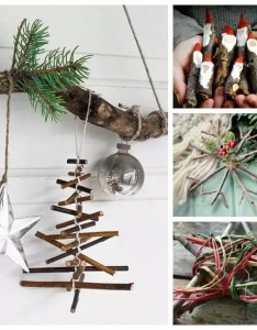 Ten beautiful christmas twig crafts for you and the children to make decorate home also rustic decorations rh rainydaymum