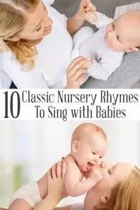 10 classic nursery rhymes