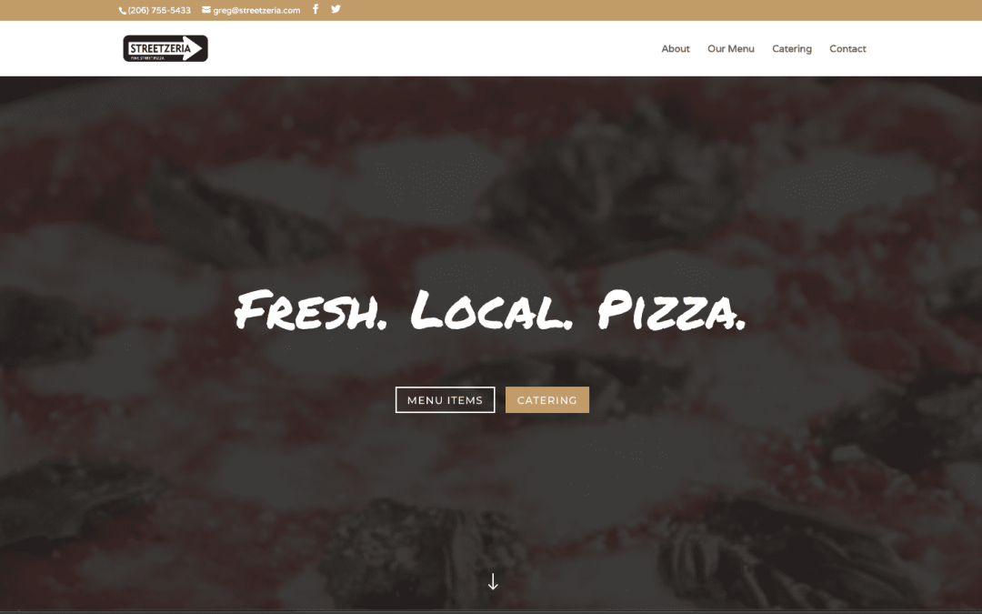 Streetzeria Website Design