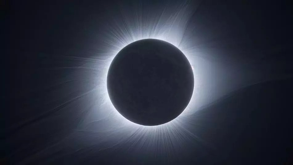 It took seven cameras and two years to create this stunning video of total solar eclipse