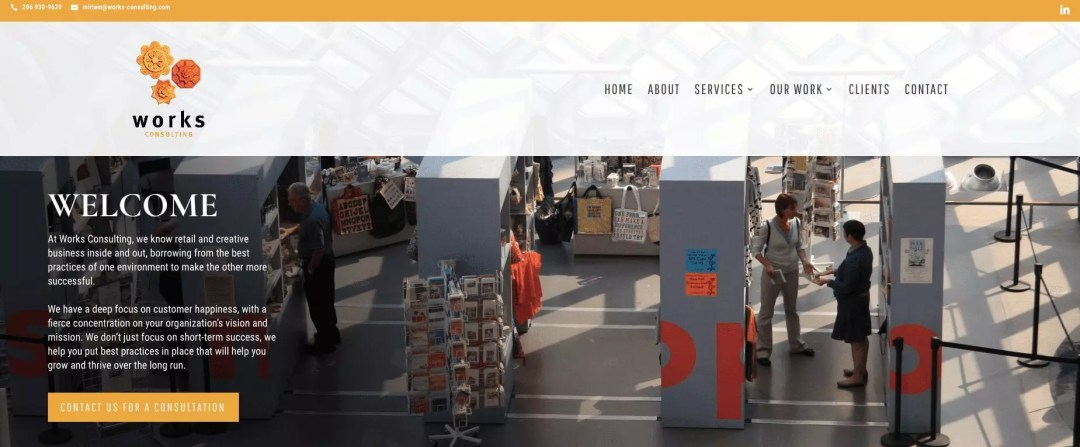 Works Consulting Website Revamp