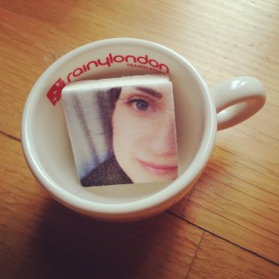 I'm in a cup!