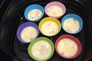 低醣食譜-氣炸鍋一口歐姆蛋Low Carbs Air Fryer Omelette Bites Recipe