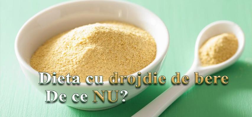 pierderea în greutate a drojdiei)