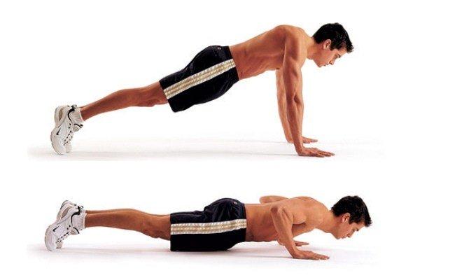 push up ajutor în pierderea în greutate