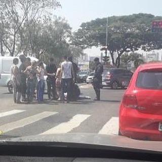 Guerreiros de ROTAM hj em um acidente na T9