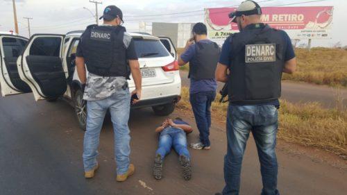 Operação da Denarc intercepta carregamento de 700 kg de maconha em Rio Verde