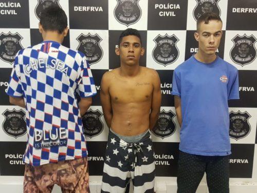 Operação da DERFRVA prende quadrilha que agia em Aparecida de Goiânia