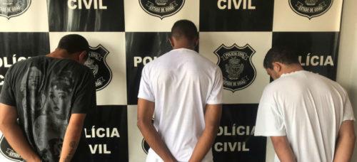 Polícia Civil finaliza investigação sobre latrocínio em Inhumas; três pessoas foram presas