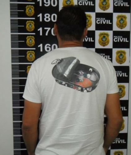 Preso em Campos Belos suspeito de golpe a comerciantes por meio de cheques clonados
