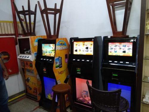 Máquinas de jogos de azar são apreendidas em Aparecida de Goiânia