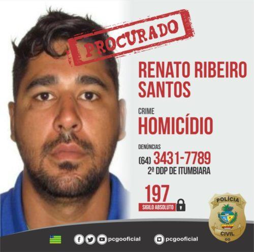 Polícia Civil conclui investigação de homicídio ocorrido em Itumbiara em razão de conflito amoroso; autor está foragido
