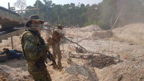 Polícia Civil de Goiás participa de operação contra garimpo ilegal em aldeia indígena da Amazônia