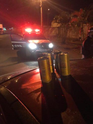 Polícia Civil prende dez motoristas bêbados nesse final de semana em Anápolis