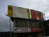 Before the uncovering of RTI Countdown signboard at Khyndai Lad parking lot