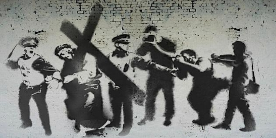 Stations of the Cross - Banksy