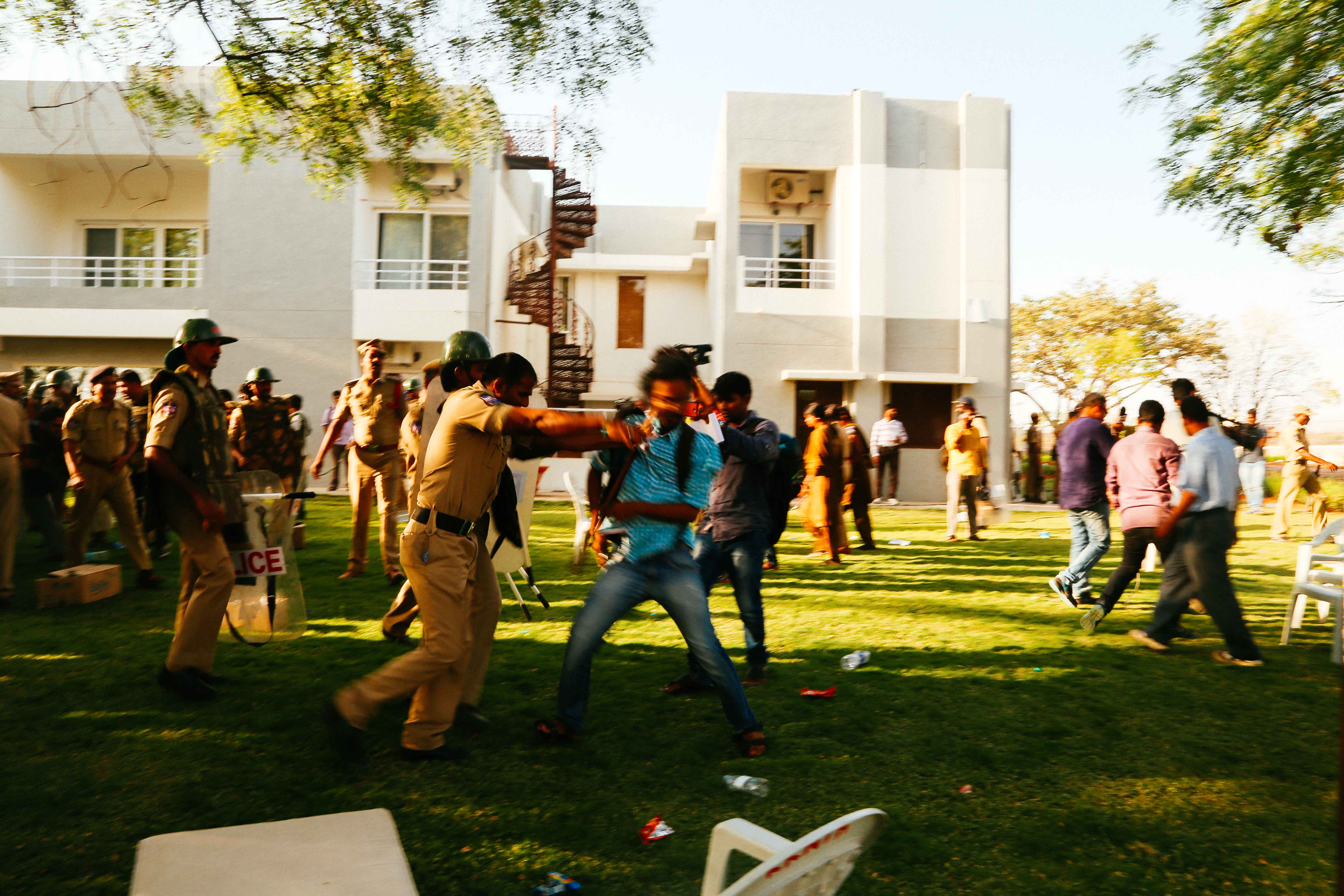 Students were brutally assaulted