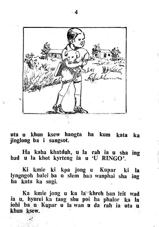 """An excerpt from the illustrated book 'U Ringo"""""""