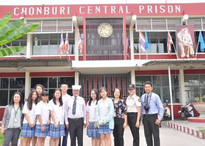 Chonburi Women Prison Ministry With Student Council and Community Service Club On November 30, 2017